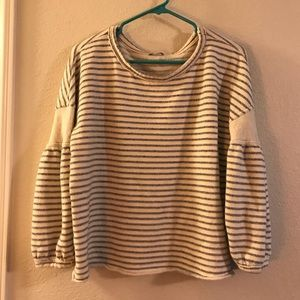 Splendid striped sweatshirt